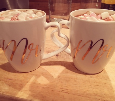 DIY hot chocolate favours