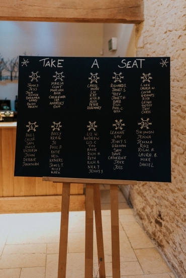 DIY table plan